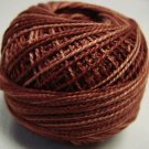 H201 Rust Heirloom Collection Valdani  Pearl Cotton size 8 q6