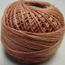 H206 Washed Orange Heirloom Collection Valdani  Pearl Cotton size 8 q6