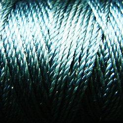 S31 Tealish Blue - Silk perlé Au Ver à Soie by VALDANI 20m spool q1