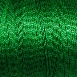 25 Christmas Green - All Purpose 50 wt Valdani cotton thread q1
