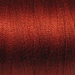 302 Rich Brick - All Purpose 50 wt Valdani cotton thread q1