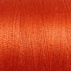 72 Peach Orange - All Purpose 50 wt Valdani cotton thread  q1
