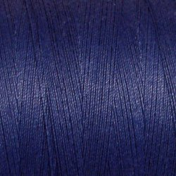 104 Deep Blue - All Purpose 50 wt Valdani cotton thread q1