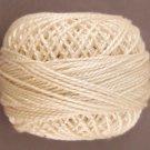 5 Light Ecru  Pearl Cotton size 8  Valdani Solid color q3