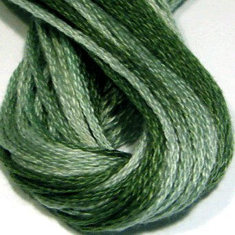 O556 Wintergreen Mint - six strand cotton floss Valdani  free ship US CA q4