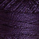 87 Rich Purple - Pearl Cotton size 12 - Valdani Solid color q1