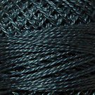 112 Dusty Blue - Pearl Cotton size 12 - Valdani Solid color q3