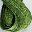H202 Withered Green - six strand cotton floss Valdani free ship US q3