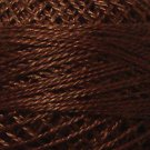 1644 Red Brown Medium-Dark Cotton size 12  Valdani Solid color q6