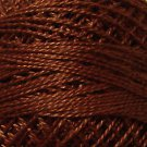 1642 Red Brown Medium-Light Cotton size 12  Valdani Solid color q6