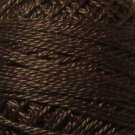 173 Rich Brown Dark - Pearl Cotton size 12 - Valdani Solid color q6