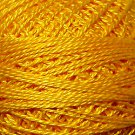 12 Gold Splendour - Pearl Cotton size 12 - Valdani Solid color q4