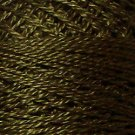 199 Dark Olive Green - Pearl Cotton size 12 - Valdani Solid color q6