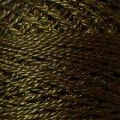 199 Dark Olive Green  Pearl Cotton size 8  Valdani Solid color q6