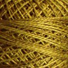 O153 Golden Moss Pearl Cotton size 8  Valdani 0153 Overdyed q6