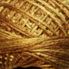 O154 Dark Antique Golds Pearl Cotton size 8  Valdani Overdyed 0154 q6
