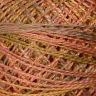 O520 Vintage Pastels  Pearl Cotton size 12  Valdani Overdyed 0520 q6
