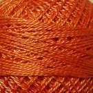 72 Peach Orange - Pearl Cotton size 12 - Valdani Solid color q3