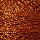 159 Rust - Pearl Cotton size 12 - Valdani Solid color q3