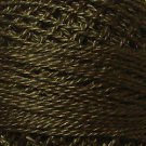 200 Dark Chocolate - Pearl Cotton size 12 - Valdani Solid color q1