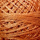 861 Faded Rust light Perle cotton size 12  Valdani As Time Goes By q2