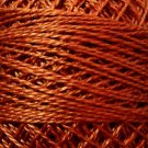 863 Faded Rust dark Perle cotton size 12  Valdani As Time Goes By q3