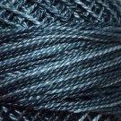 O578 Primitive Blue Faded Blue Pearl Cotton size 12  Valdani Overdyed 0578 q6