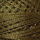 195 Golden Olive  Pearl Cotton size 8  Valdani Solid color q6