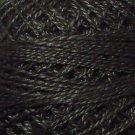 2 Charcoal - Pearl Cotton size 12 - Valdani Solid color q4
