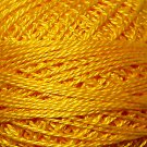 12 Gold Splendour Pearl Cotton size 8  Valdani Solid color q6