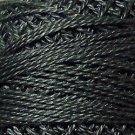135 Beaver Gray Dark  Pearl Cotton size 8  Valdani Solid color q4
