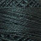 8111 Black Light Pearl Cotton size 8  Valdani Solid color q6