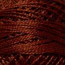 1643 Red Brown Medium Pearl Cotton size 8  Valdani Solid color q6