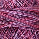 V60 - Pinks and Purples Pearl Cotton size 8 Valdani Variegated  Vibrant q6