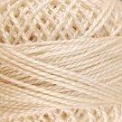 5 Light Ecru - Pearl Cotton size 12 - Valdani Solid color q6
