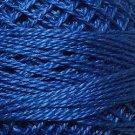 104 Deep Blue  Pearl Cotton size 12  Valdani Solid color q6