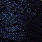 114 Marine  Pearl Cotton size 12  Valdani Solid color q6