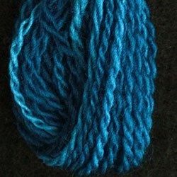 W3 Electric Blue Valdani Wool 10 yds skein size 15 (26/2)