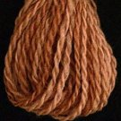 W1 Old Cognac Valdani Wool 10 yds skein size 8 (13.5/2)