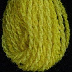 W14 Sunny Yellows Valdani Wool 10 yds skein size 8 (13.5/2)
