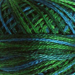 V15 Algae 3 Strands Cotton Floss Valdani 29yd ball Free Ship US q6