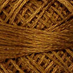 154 Deep Antique Gold Three Strand Floss Valdani plus free ship US q6