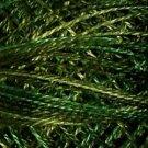 O526 Green Pastures Pearl Cotton size 12  Valdani Overdyed 0526 q5