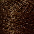 172 Rich Medium Brown - Pearl Cotton size 12 - Valdani Solid color q5