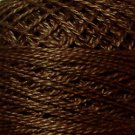 172 Rich Medium Brown Pearl Cotton size 8  Valdani Solid color q6