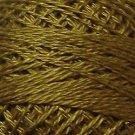 234 Khaki Olive Pearl Cotton size 8  Valdani Solid color q6