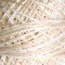 O549 Beige Ivory Pearl Cotton size 12  Valdani Overdyed 0549 q6