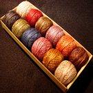 Special P0 Valdani Vintage Hues collection - Valdani Pearl Cotton size 8 q3