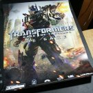 SDCC 2011 Transformers Dark of the Moon Game Promo Poster