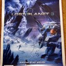 SDCC 2012 Lost Planet 3 Promo Poster (Autographed)